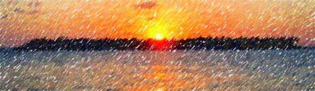 Nacht, Sonnenuntergang, Dämmerung, Abend